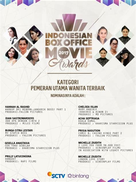 film terbaik 2017 box office daftar nominasi indonesia box office movie 2017 sctv news