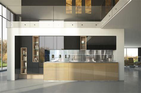 Minimalist Kitchen Design by Brilliant Kitchen Cabinets By Scic Decoholic