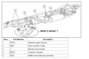 where is bank 2 sensor 1 located on 2003 e250