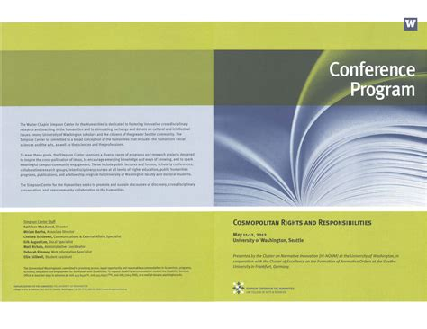 conference program templates 4 free conference program templates word excel pdf