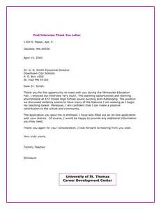 Business Letter Thank You For Interview Other Template Category Page 421 Sawyoo Com