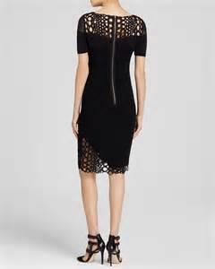 Sarah Comfort Elie Tahari Tabitha Dress In Black Lyst