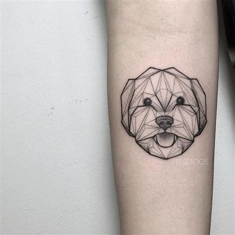 geometric animal tattoo designs dog tattoo by fin t fint malaysia geometric animal