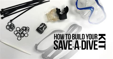 dive kit how to build your save a dive kit sdi tdi erdi
