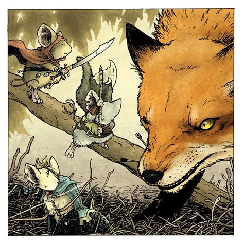 mouse guard roleplaying box set 2nd ed david petersen s rpg 2nd edition boxed set artwork
