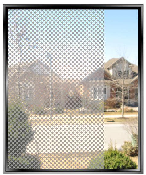 dot pattern window film eigth inch dots decorative window film