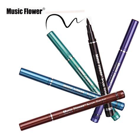 Eyeliner Pen 1pcs liquid eyeliner pen waterproof eye liner pencil 5 color lasting eye makeup pen smoky