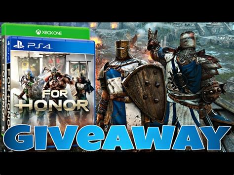 For Honor Giveaway - gamestop completely sold out of this youtube linkis com