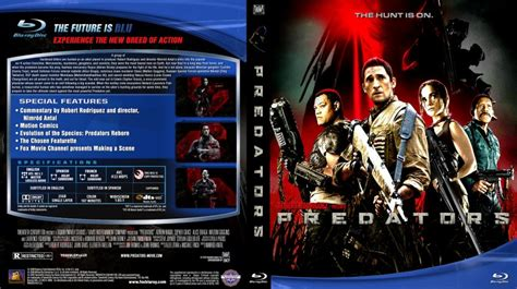 Bluray Ori The Predator predators bd4 custom covers predators bd4 001 dvd covers