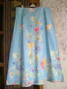 Batik Kebaya Atas Bawah Rok Blouse blouse batik kombinasi brokat klambi batik kebaya brokat and blouses