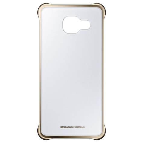 Clear Cover by Samsung Galaxy A3 2016 Clear Cover Ef Qa310cf Gold