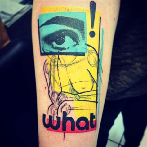 pop art tattoo pop by cavan infante tattoomagz