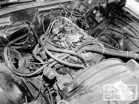 chevy el camino  engine rebuild hot rod network