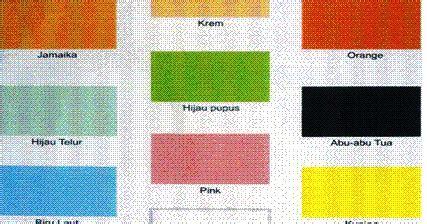 terpopuler gambar warna cat tembok  luc cat rumah