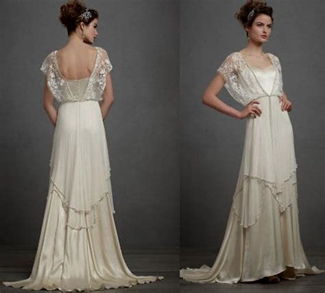 Vintage Style 1920s Wedding Dresses by 20s Wedding Dress Vintage Naf Dresses