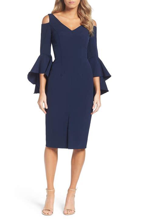 dress for trendy bell sleeve dresses for summer wedding guest season