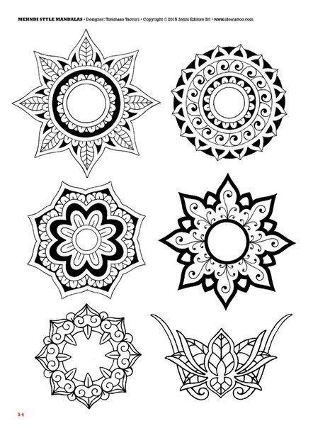 mandala tattoo flash book 127 best mandala images on pinterest tattoo ideas