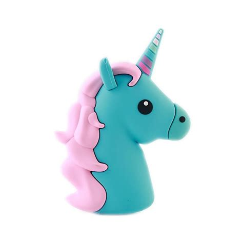 Powerbank Unicorn 8000 Mah moji power blue unicorn high capacity portable power