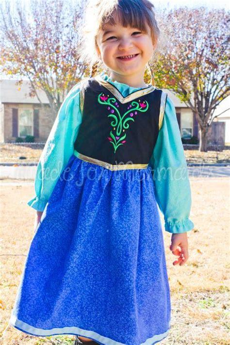 pattern dress frozen anna frozen everyday princess dress by madeformermaids