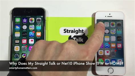 straight talk  net iphone show tfw  home