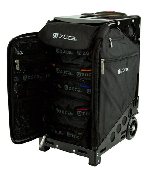 Suitcase With Drawers by Zuca Rollaboard Luggage With Drawers Doubles As A Chair
