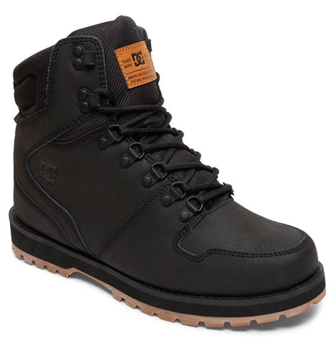 mens dc boots s peary winter boots 320395 dc shoes