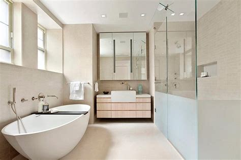 Modern Bathroom Design Nyc Modern Interior Design Of A Duplex Apartment In New York