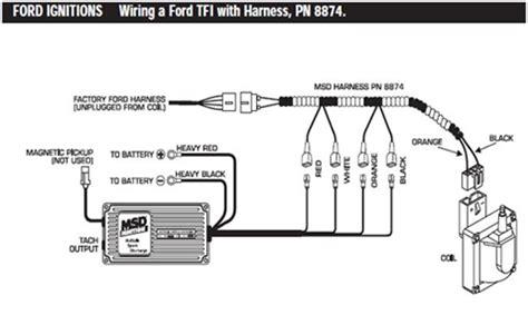 msd 6al 6420 wiring diagram power msd 6al ignition module w rev installation americanmuscle
