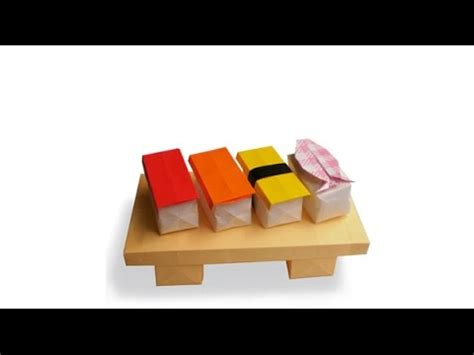 Origami Sushi - sushi origami origami of sushi is simple