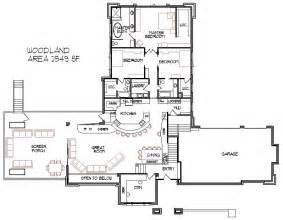 Split Level Floor Plans by Split Level House Plans Tri Level Home Floor Designs With