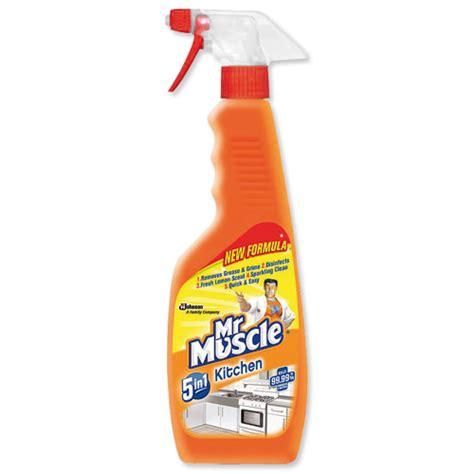 Kitchen Cleaner by Mr Kitchen Cleaner Lemon Trigger Spray For All
