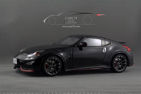 nissan fairlady 370z nismo 1 18 nissan fairlady z nismo z34 black asian exclusive