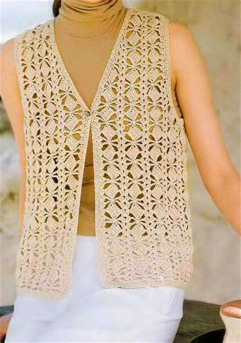 pattern crochet vest womens 20 stylish crochet sweater vest design diy to make