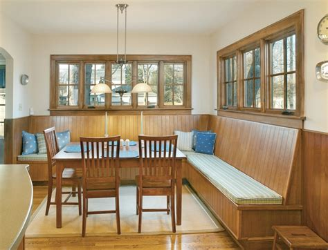 custom banquette seating for an arlington ohio
