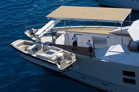 fishing boat yacht tender 10 superyacht tender garage s that will absolutely blow
