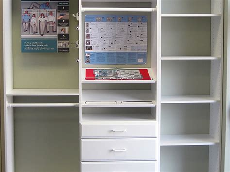 Easy Track Closet System by Shelving Closet Organizing Hamilton Building Supply
