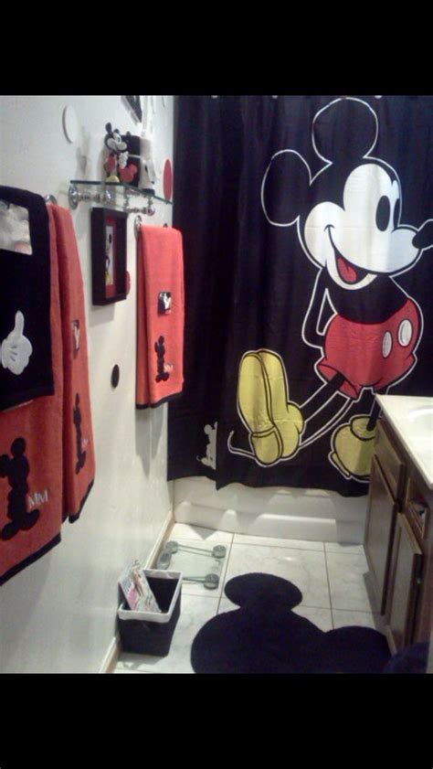 mickey mouse bathroom decorating ideas mickey mouse
