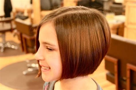 a line kid cut a line bob children haircuts heidi mitchell hair