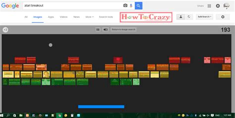 How To Play Online Game Atari Breakout on Google Images