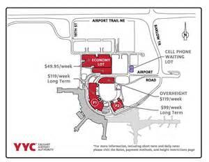Car Rental Yyc Airport Calgary Yyc Airport Map Yyc Terminal Map