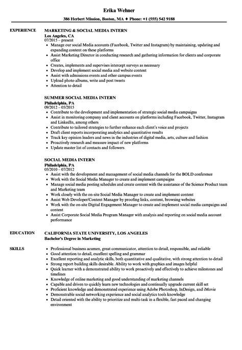 cv templates for media jobs great social media resume exles pictures inspiration