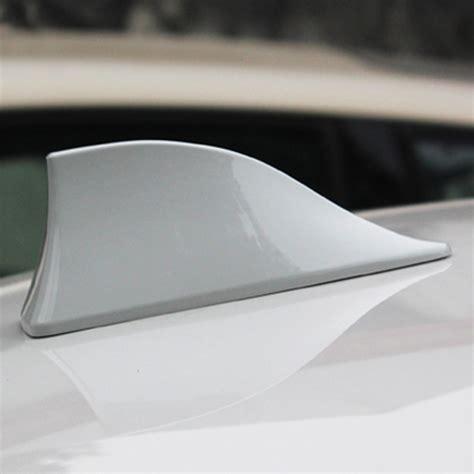 universal auto suv car roof special radio fm am shark fin antenna aerial signal ebay
