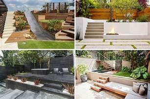 terrasse gestalten modern terrasse am hang praktisch und modern gestalten 10 tolle