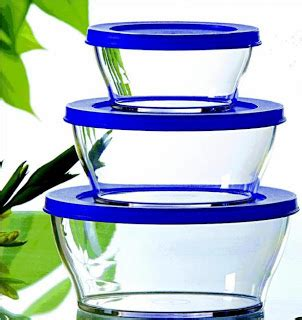 Tupperware Clear Bowl Set Gold 5pcs of cooking using tupperware others serving and dinner sets