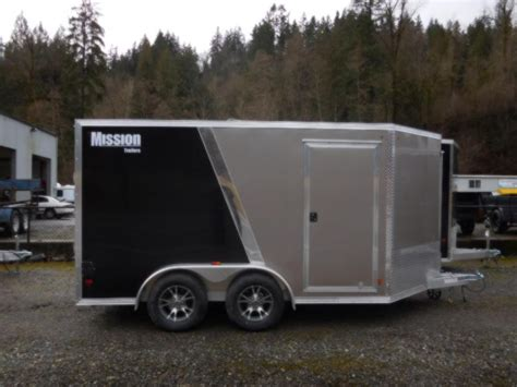 nw aluminum boat trailers enclosed aluminum cargo trailers by mission trailers