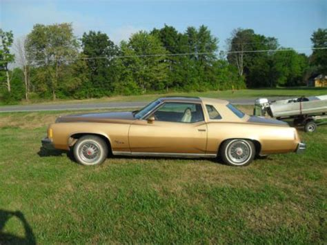 find used 1977 pontiac grand prix lj coupe 2 door 5 7l in canastota new york united states