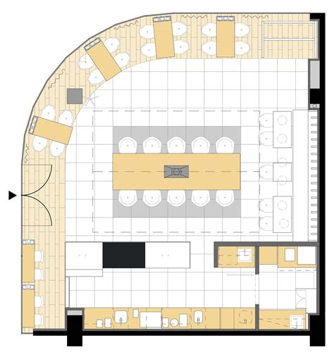 layout de um cafe gallery of cafeina caf 233 mode lina architekci 12