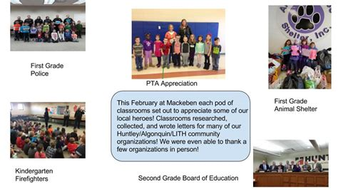 Algonquin College Letter Grades Mackeben Recognizes Local Heroes With Letters Visits Mackeben Elementary School