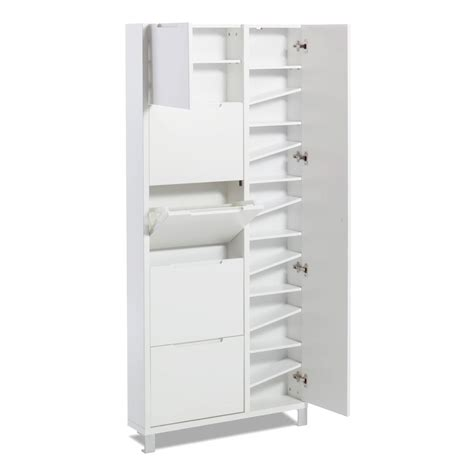Slim Shoe Cupboard - slim shoe cabinet for small entryways home make space