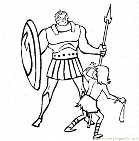 david and goliath coloring pages for toddlers david and goliath coloring page